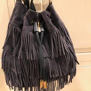 Vince Camuto Fringe bag with Rebecca Minkoff strap